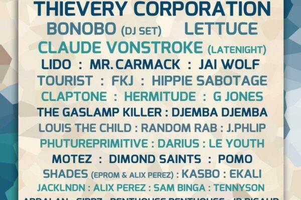 What The Festival 2016 Lineup Poster