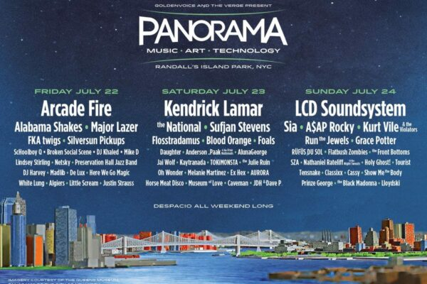 Panaroma Music Festival 2016 Lineup Poster