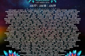 Electric Daisy Carnival Delivers 2016 Las Vegas Lineup
