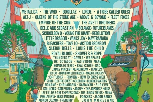 Outside Lands 2017 Lineup Poster 2