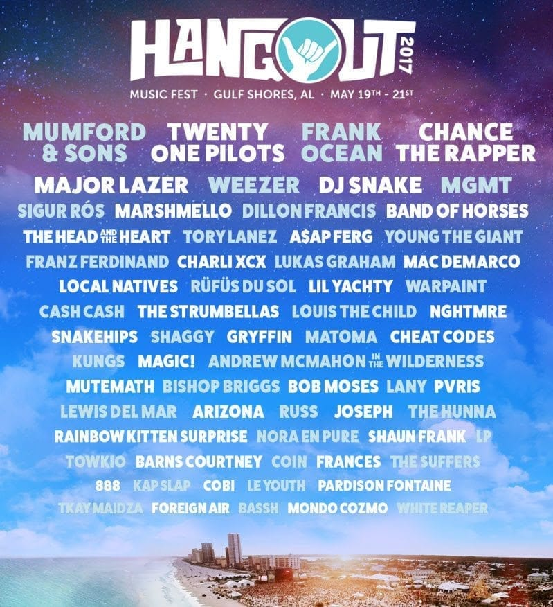 Hangout Fest 2017 The Mfw Music Festival Guide