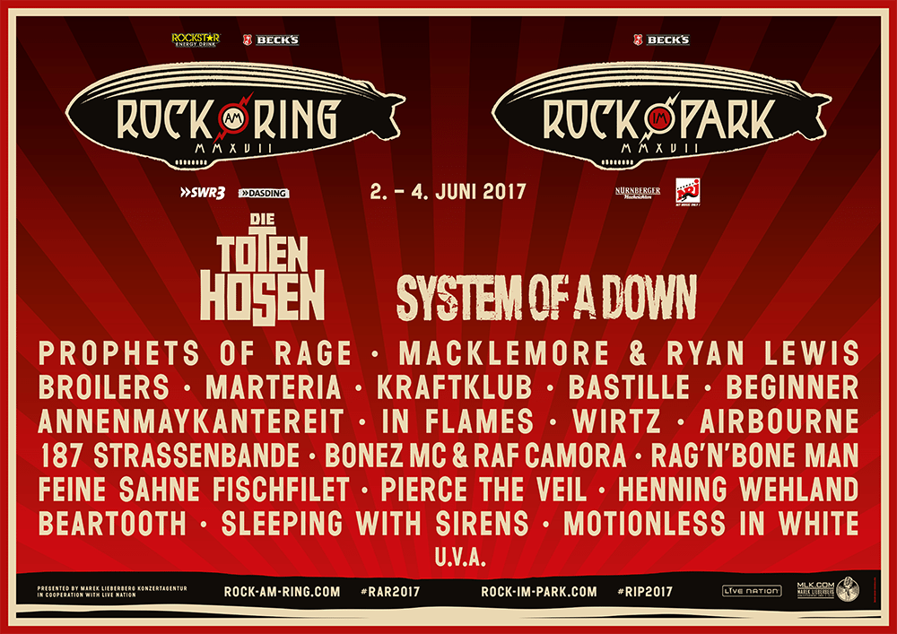 Rock Am Ring 2017 Festival Poster