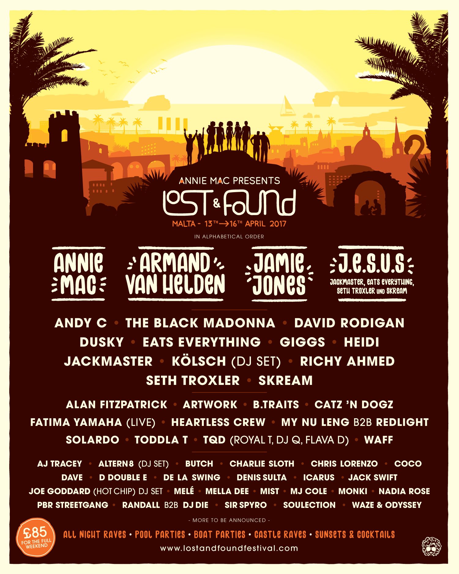 Lost And Found Malta 2017 Festival Poster