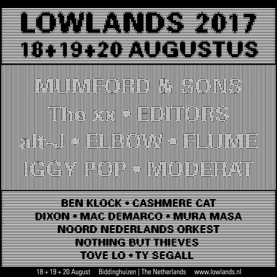 Lowlands 2019: Lowlands 25th Anniversary Lineup: The Xx, Editors, Iggy
