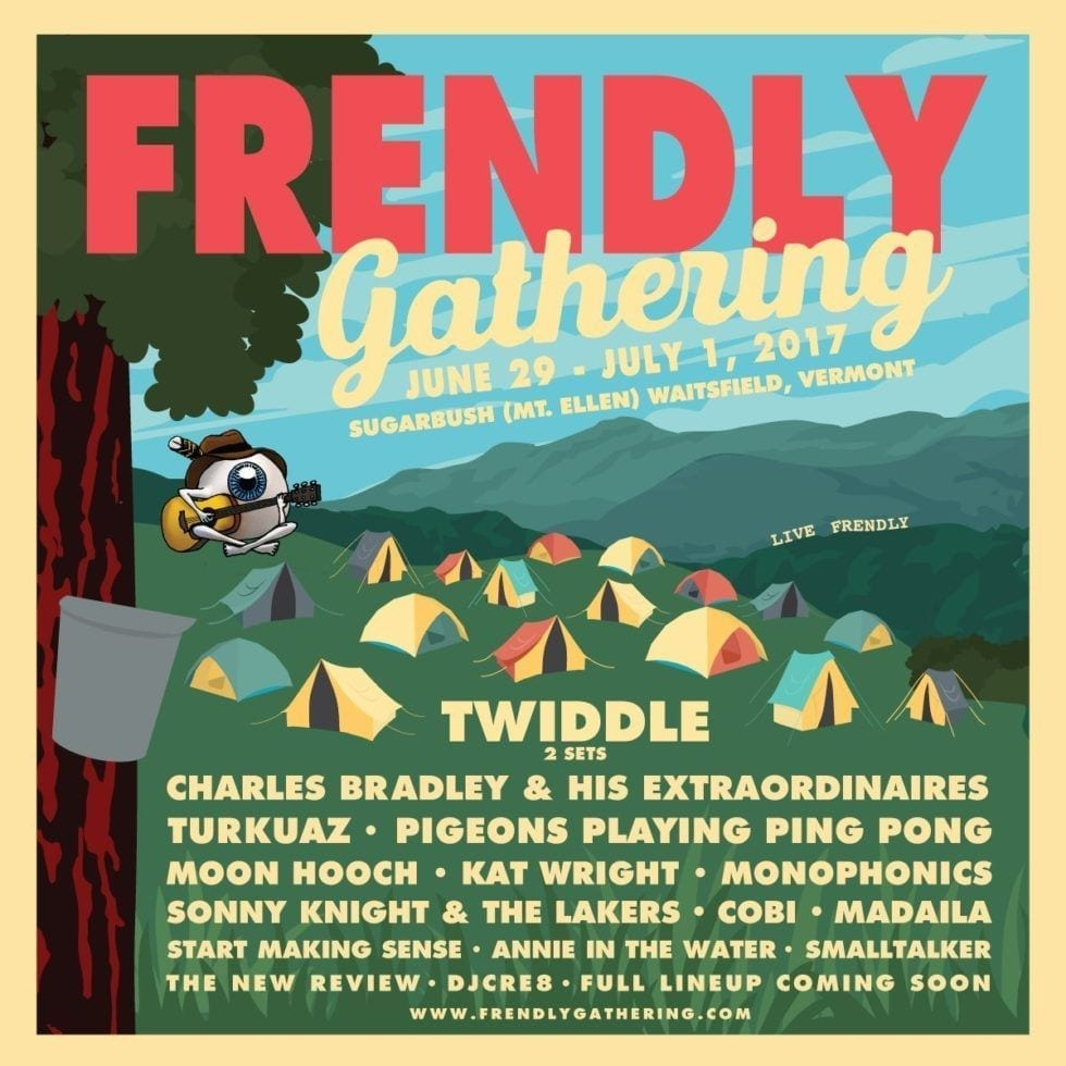 Frendly Gathering 2017 Festival Poster