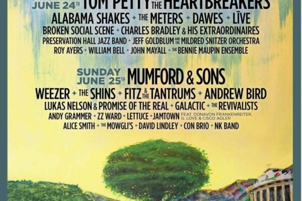 Arroyo Seco 2017 Lineup Poster