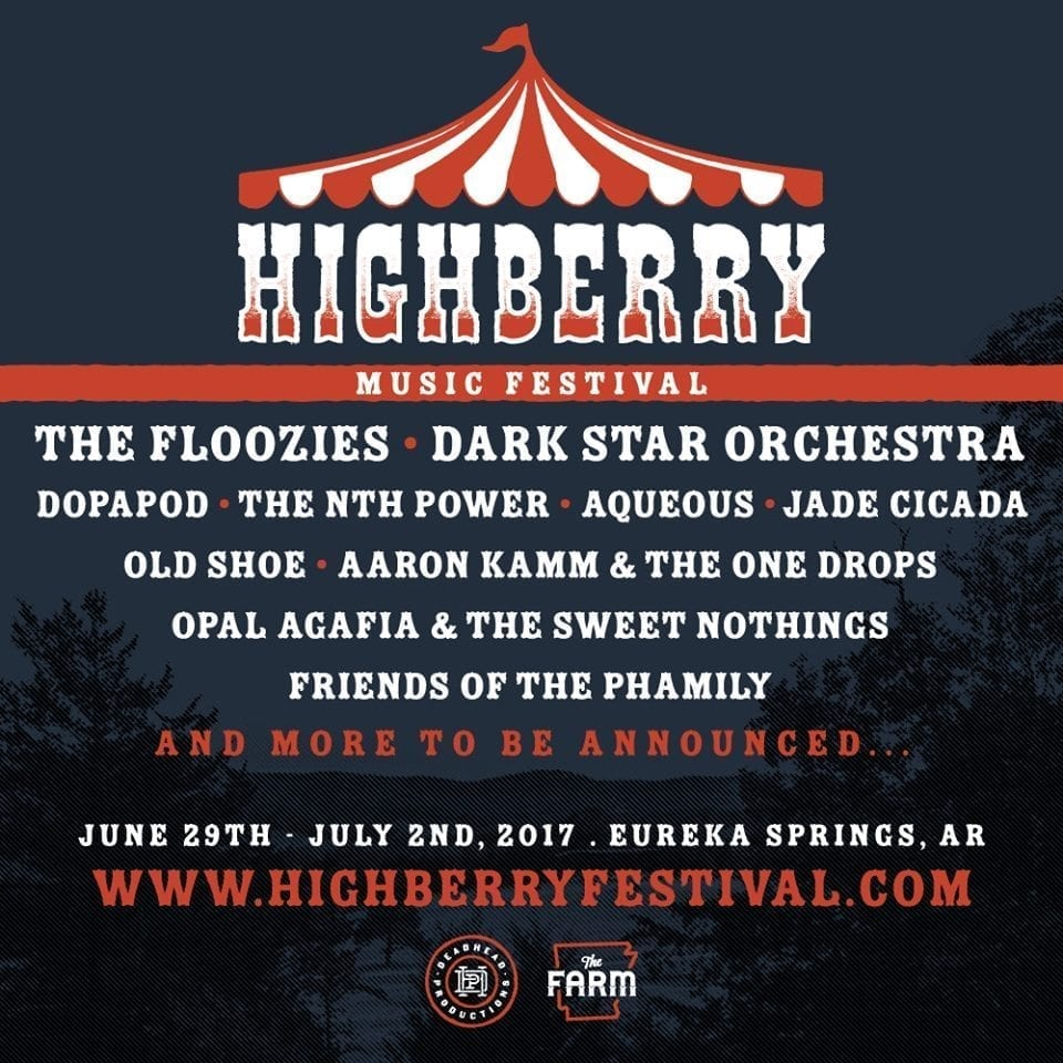 Highberry 2017 Festival Poster