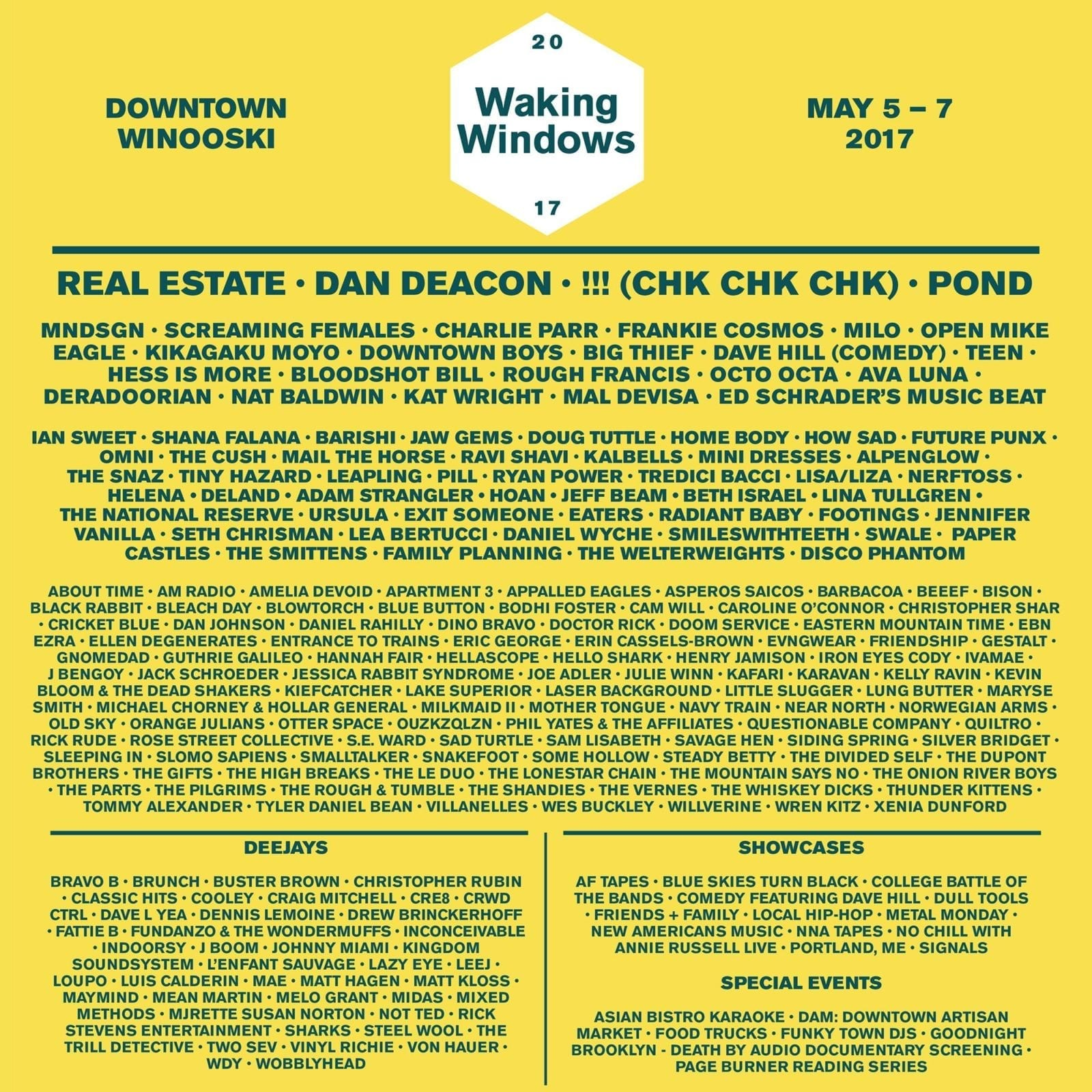 Waking Windows 2017 Festival Poster