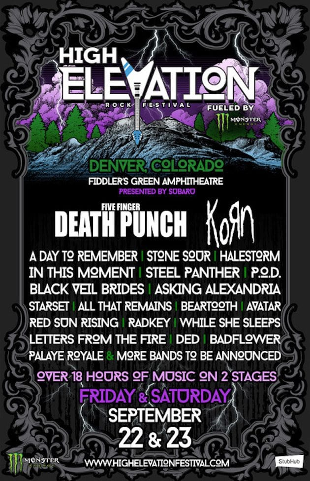 High Elevation Festival 2017 Festival Poster