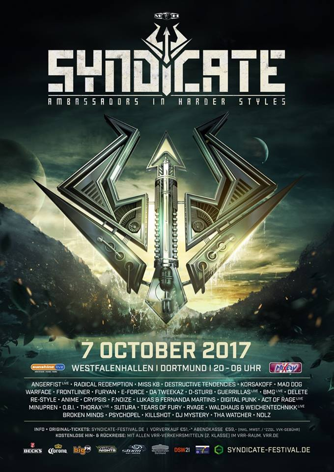 Syndicate 2017 Festival Poster