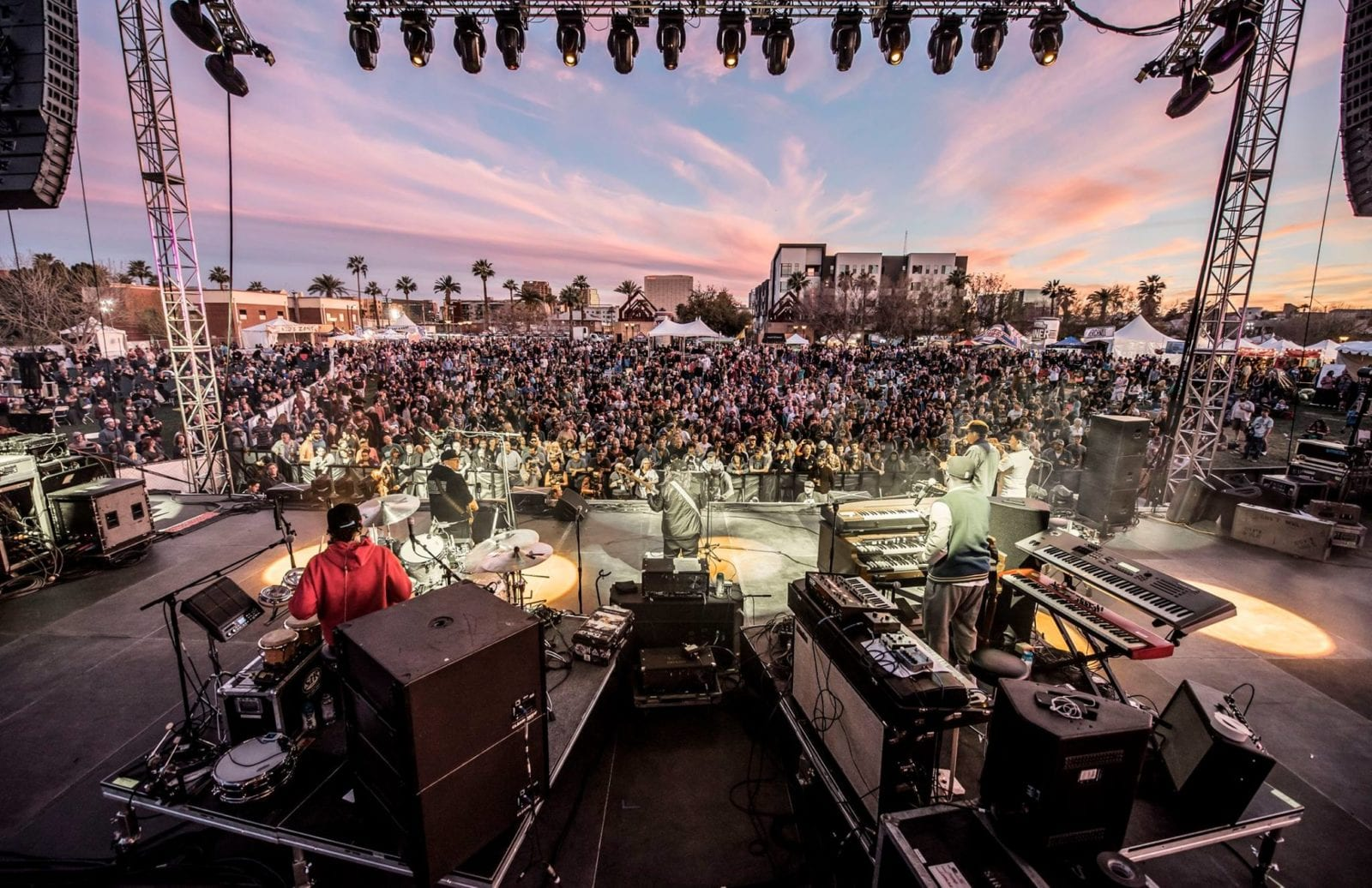 It may be late spring everywhere else in the United States, but March is like summertime down in Arizona and McDowell Mountain Music Festival (M3F Fest) takes full advantage of the warm weather.